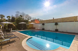 Barb wire newsletter september 2015 la barbarie hotel guernsey for St ivo swimming pool timetable