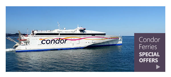 Condor Ferries special offers.