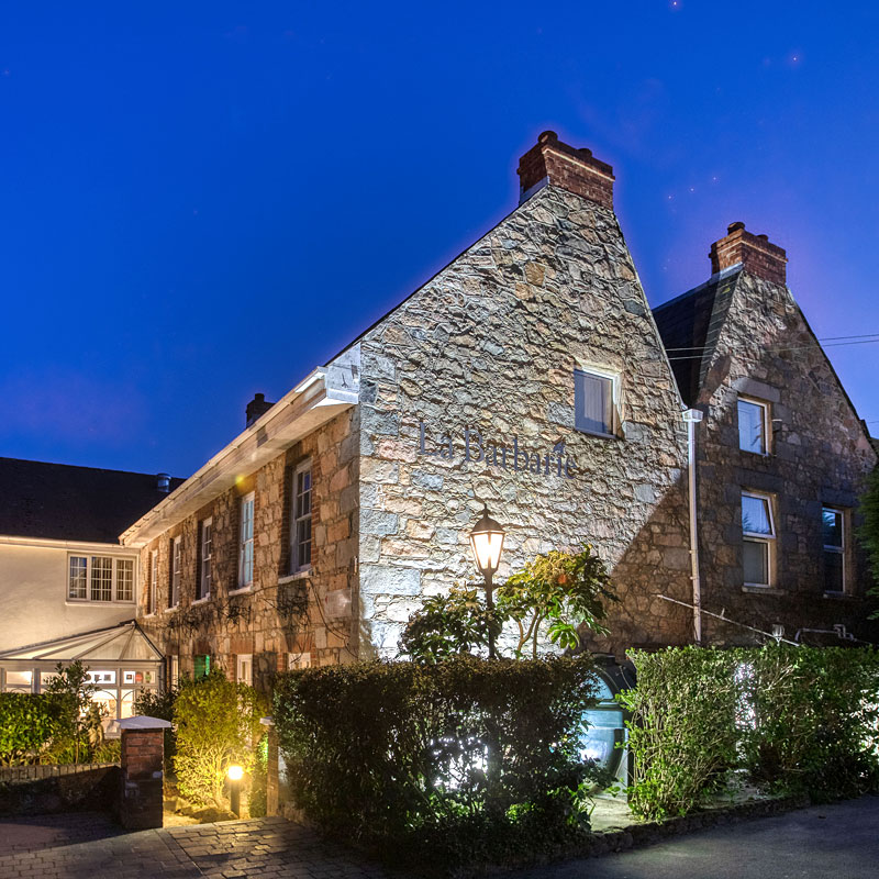 Guernsey country hotel.