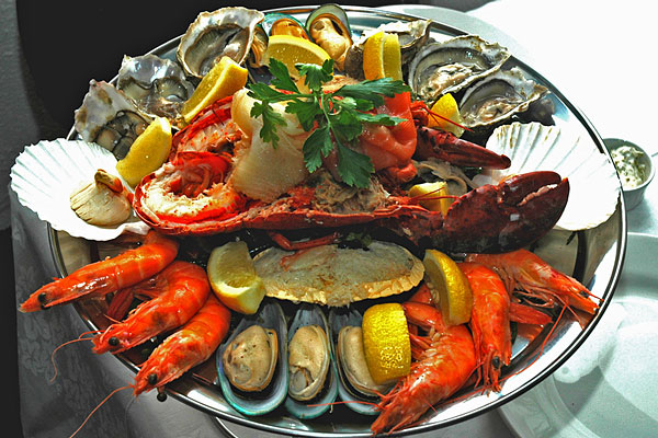 Seafood platter special offer.